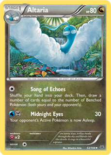 Altaria Roaring Skies Pokemon Card