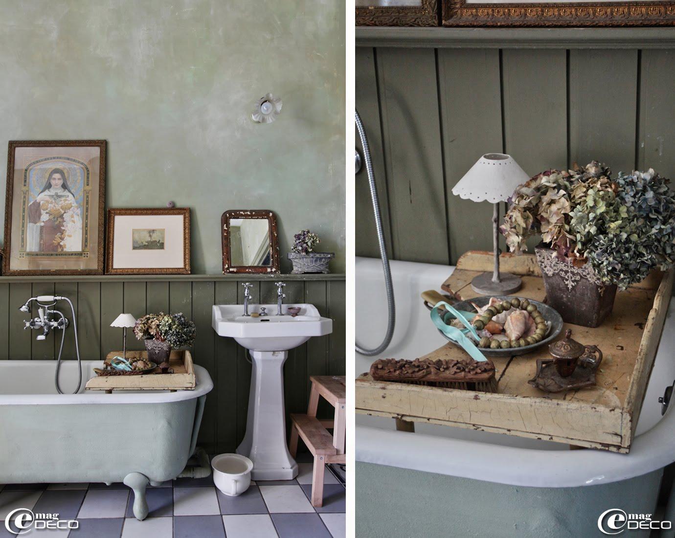 Salle de bain, chez Miss Clara