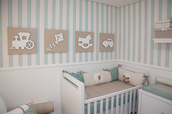 Decoração para quarto de bebê ♥  Apê em Decoração
