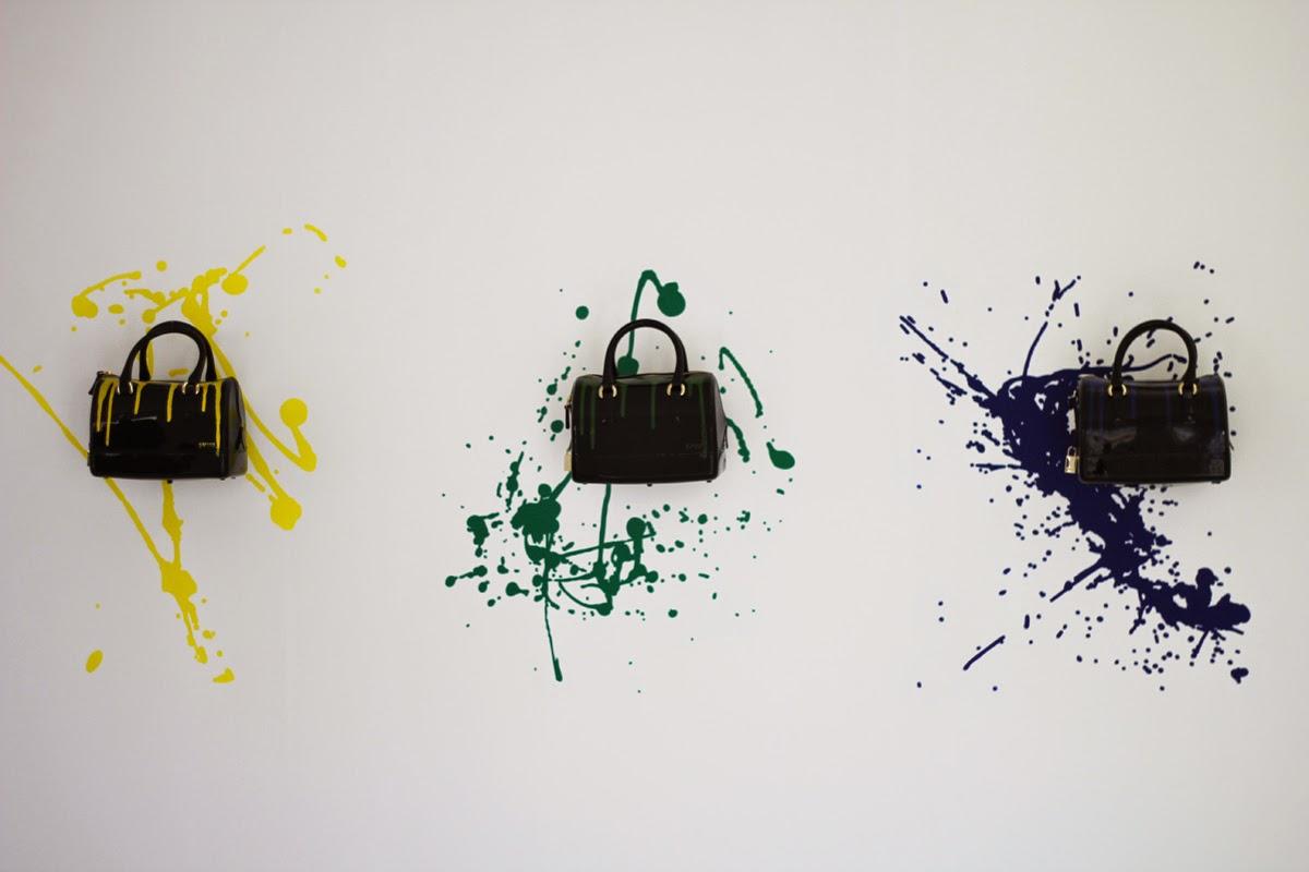 neue furla kollektion während der mailand fashion week
