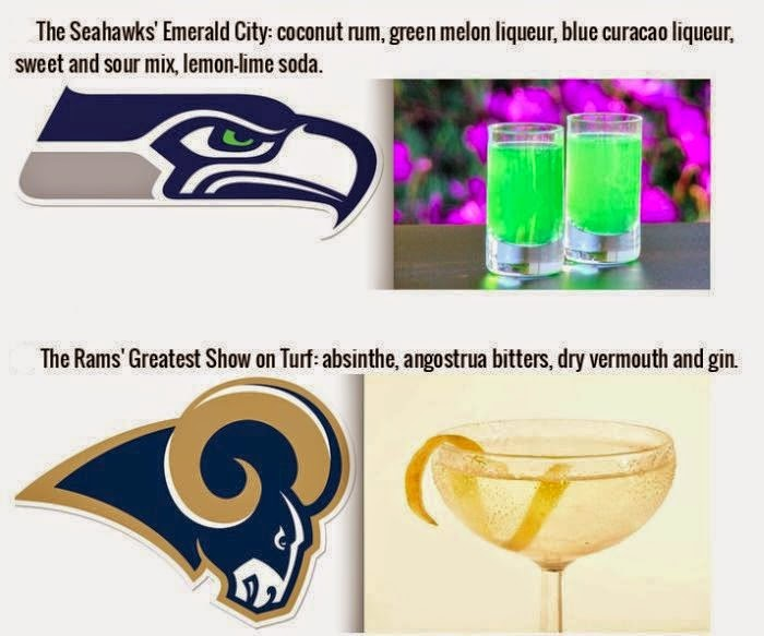 16 Delicious Drinks That Were Inspired by Your Favorite NFL Team