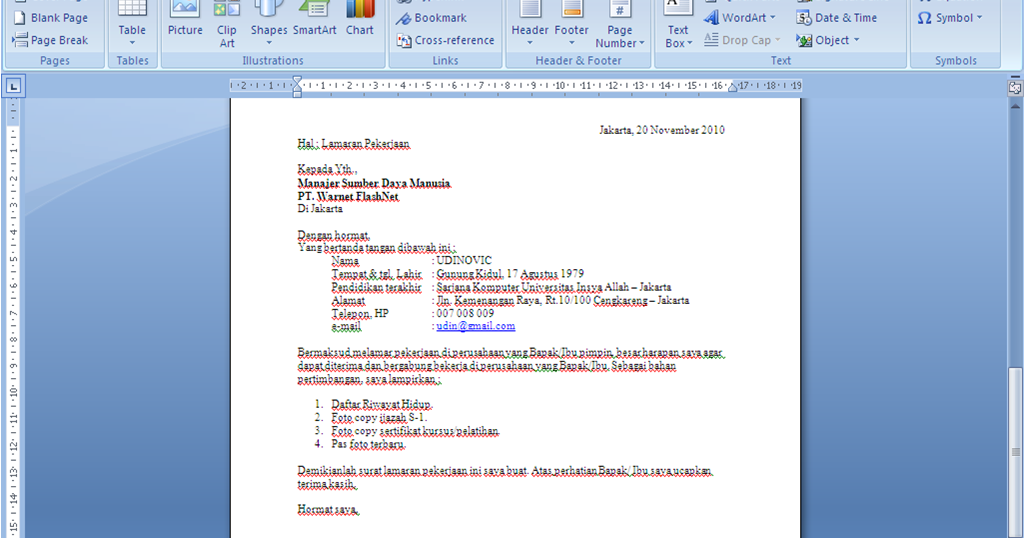 43+ Contoh balasan surat lamaran kerja via email terbaru terbaru