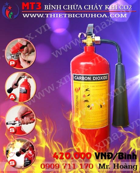 bình cứu hỏa khí co2 mt3 3kg