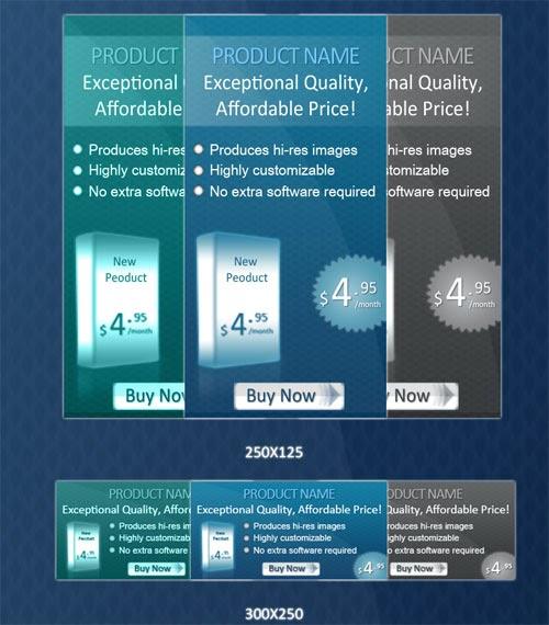 Web Banners Ads PSD 2