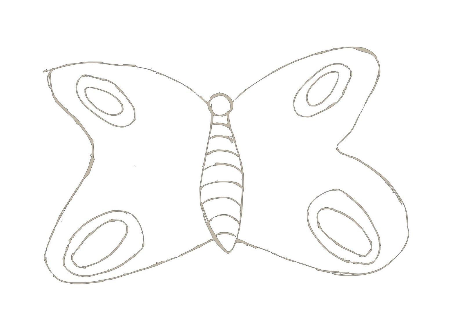 Desenho para colorir de Borboleta.Aqui você encontra esse e outros