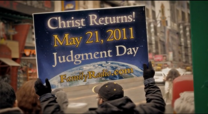 may 21 judgement day. May 21, Judgment Day: A screen
