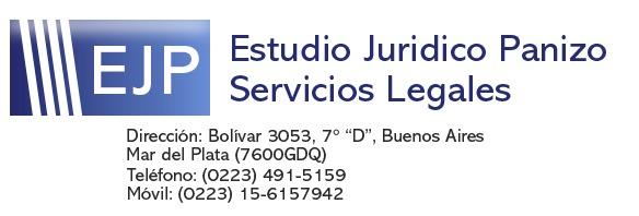 Diligencias Judiciales en Mar del Plata | Gestoría Judicial | Dra. Panizo - Cédulas Ley 22172