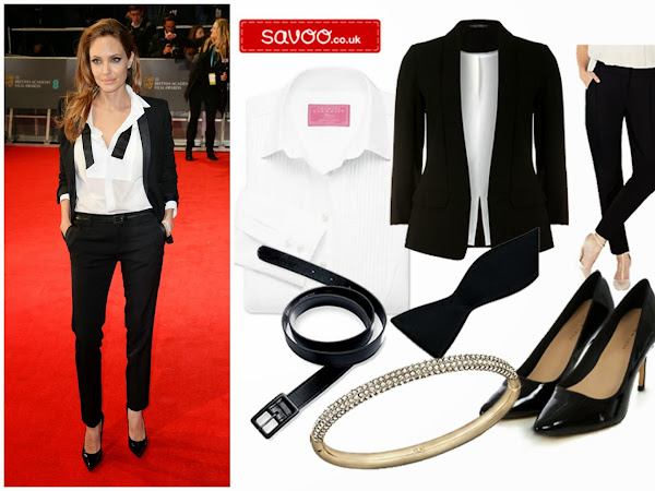 THE BAFTAS CELEB STYLE |  ANGELINA JOLIE