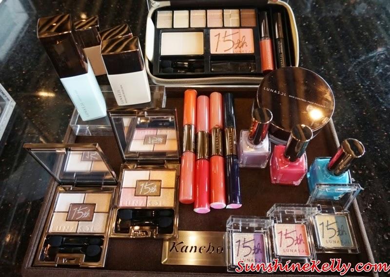 Kanebo Lunasol 15th Anniversary Celebration, Kanebo Lunasol, Kanebo, Lunasol Daily Win, LunasolMY15, Kanebo Lunasol 15th Anniversary Makeup Palette, Kanebo Lunasol Modelling Beige  Skin Makeup Base / Foundation SPF30, Lunasol 15th Anniversary, Lunasol Makeup, Purifying Makeup