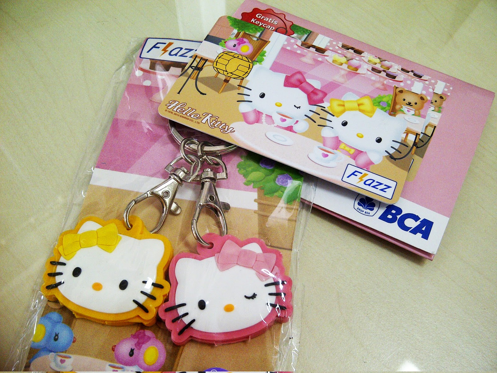 Bca Flazz Hello Kitty Limited Edition Love Life Card Finally I Got The Jumping