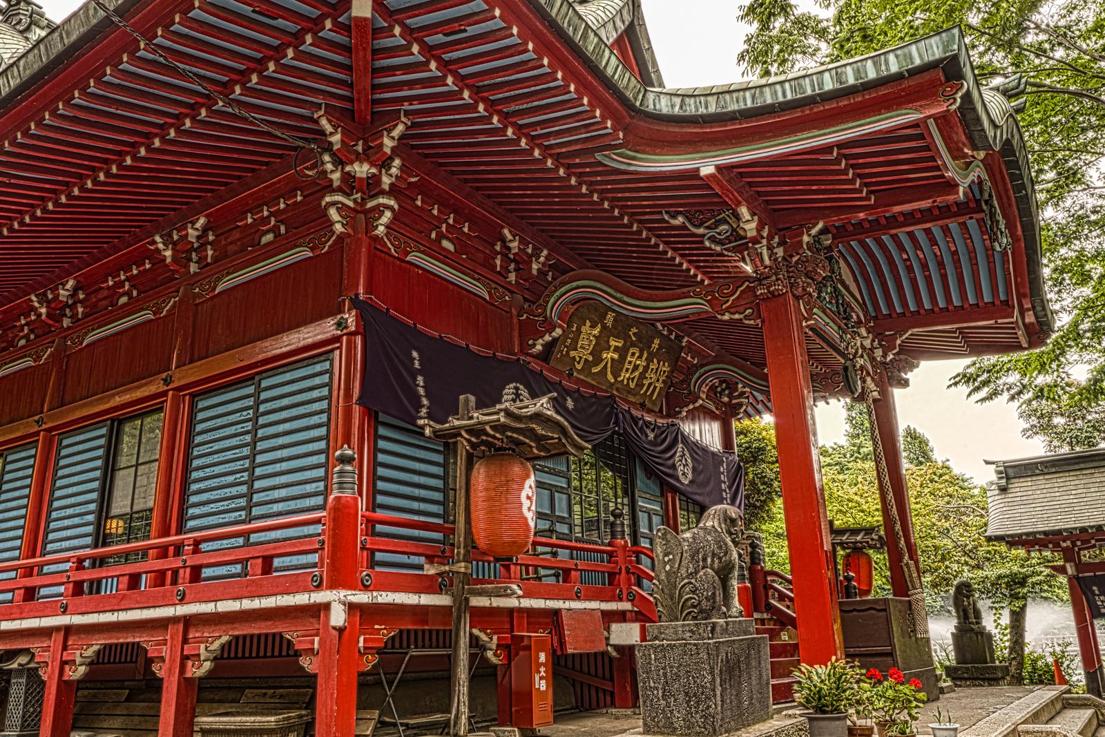 大盛寺(井の頭弁財天)のHDR写真