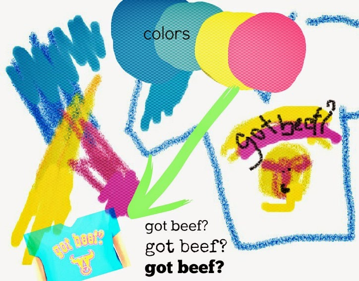 got beef tshirt design