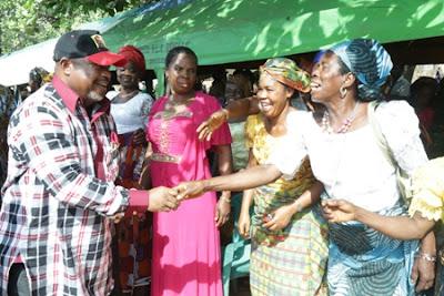 Abia North Agog as Bourdex Takes Campaign Tour to Umunneochi