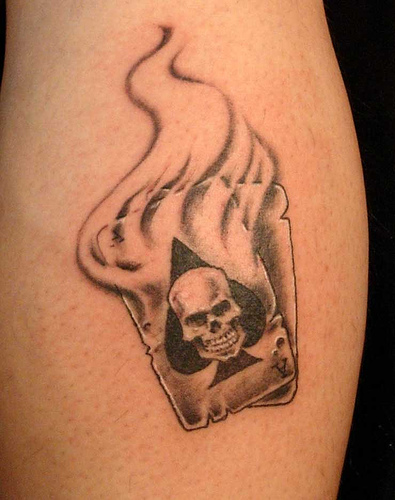 cards-tattoos-cards-and-dice-tattoo-playing-cards-tattoo-cards-tattoo ...