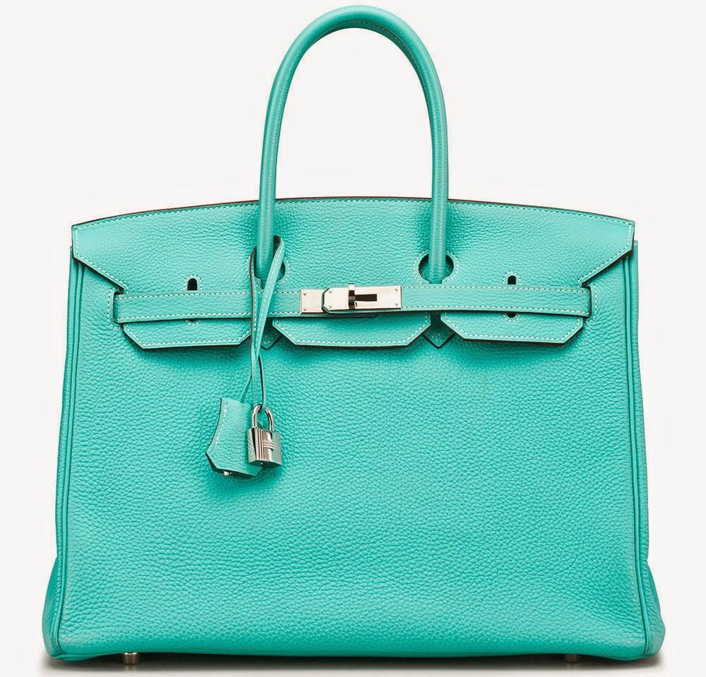affordable bags - Hermes Blue Electric Epsom Birkin 30cm Palladium Hardware