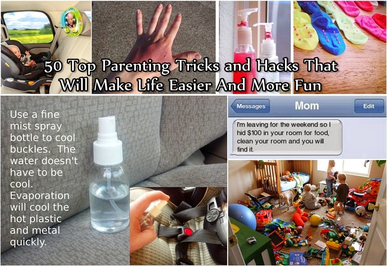 50 Top Parenting Tricks and Hacks That Will Make Life Easier And More Fun