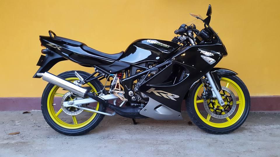 Modifikasi Motor Ninja Hitam Keren By Ivanno  Modifikasi Motor Ninja RR  Hitam Keren By Ivanno. Modifikasi Motor Ninja Rr Warna Hitam