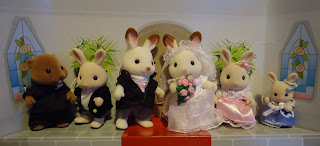 Sylvanian Families Royal Wedding Set