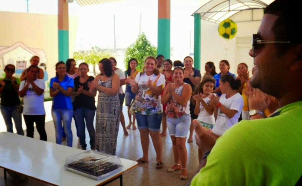 CENTRO DE EDUCAÇÃO INFANTIL, OLINDINA CÂMARA OLEGÁRIO REALIZA AÇÃO EM BUSCA DO SELO UNICEF