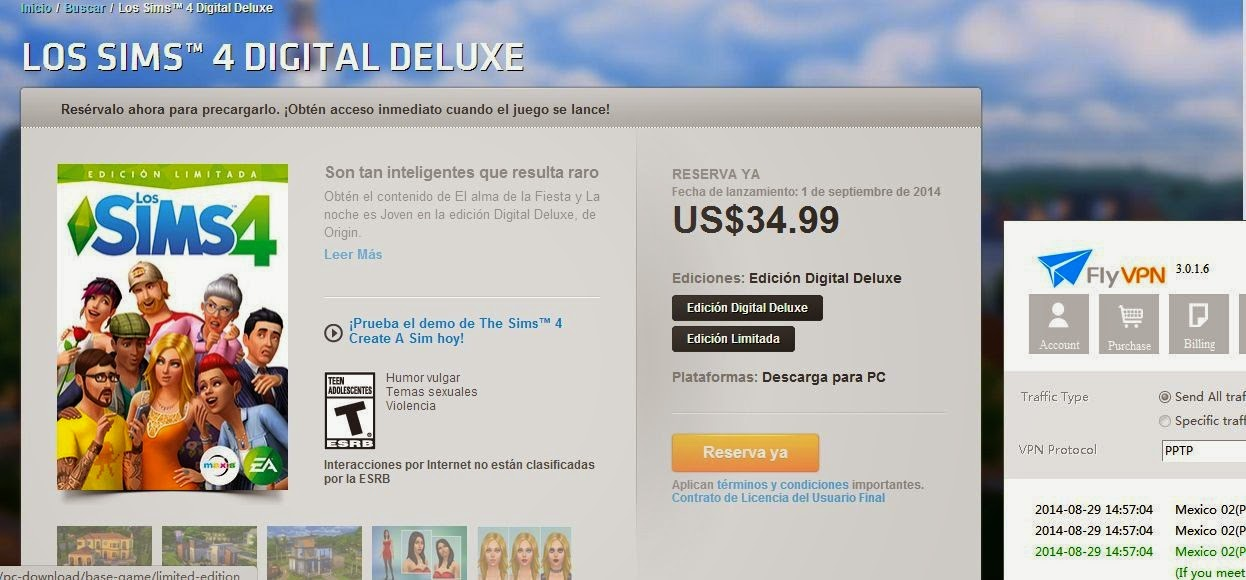 SIMS 4 Limited Edition in Mexician Origin Store
