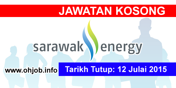 Jawatan Kerja Kosong Sarawak Energy logo www.ohjob.info julai 2015