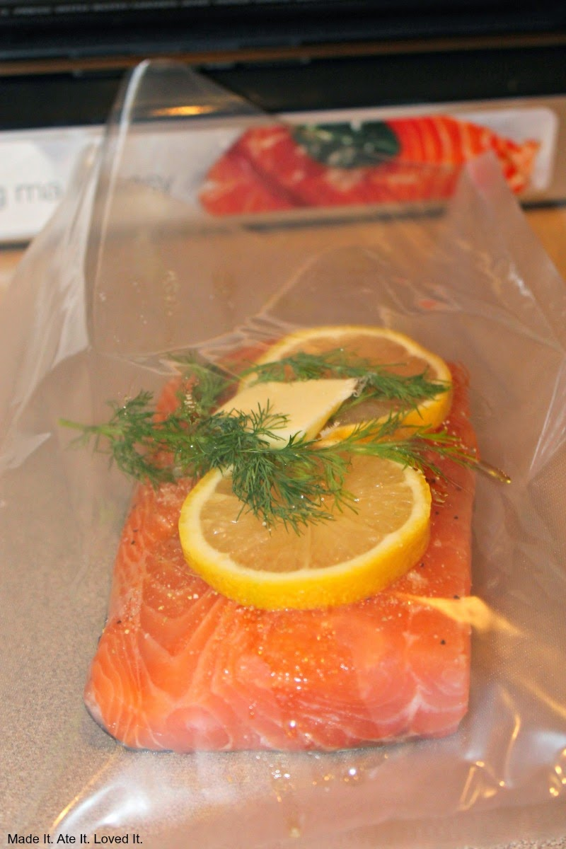 I Cooked My Salmon How I Normally Would By Drizzling It With Olive Oil Salt Pepper Garlic Salt Lemon Juice Lemon Slices And A Little Fresh Dill And