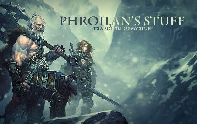 Phroilan's stuff