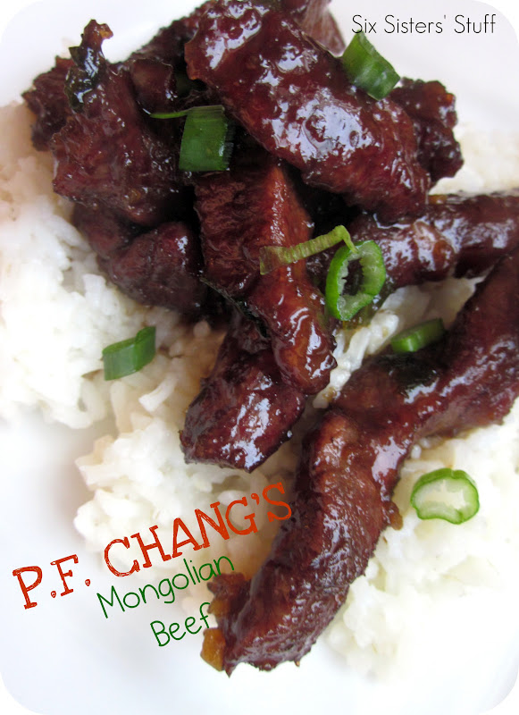The Southern Girl: P.F. Chang's Mongolian Beef Copycat