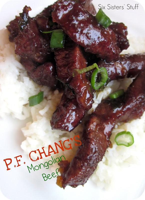 Food Recipe P F Changs Mongolian Beef