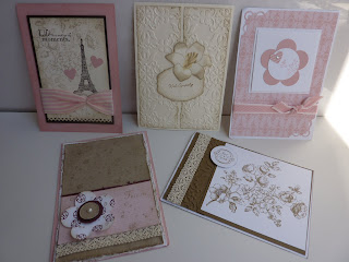 Stampin Up! Convention - Melbourne 2011 - Shabby Chic Cards