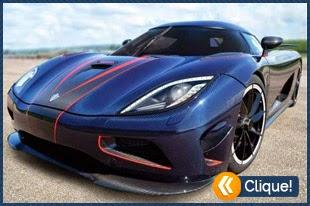 Os 10 carros mais rápidos do mundo
