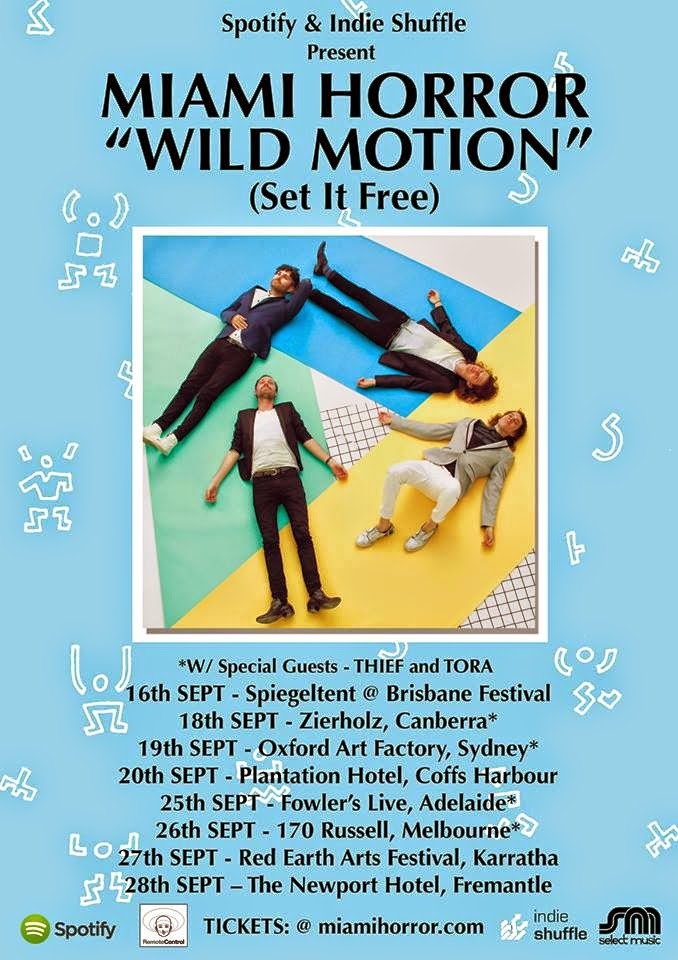 Miami Horror - Wild Motion (Set It Free)