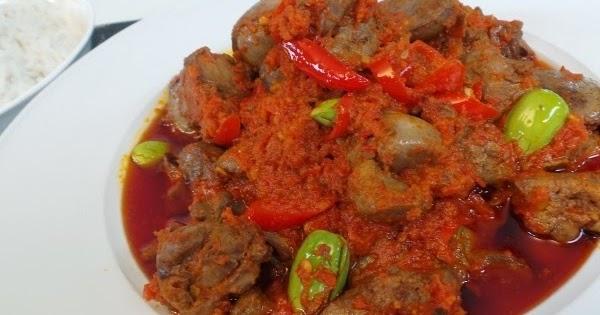 Resep Sambal Goreng Ati Sapi Ala Hajatan | Info Resep Masakan