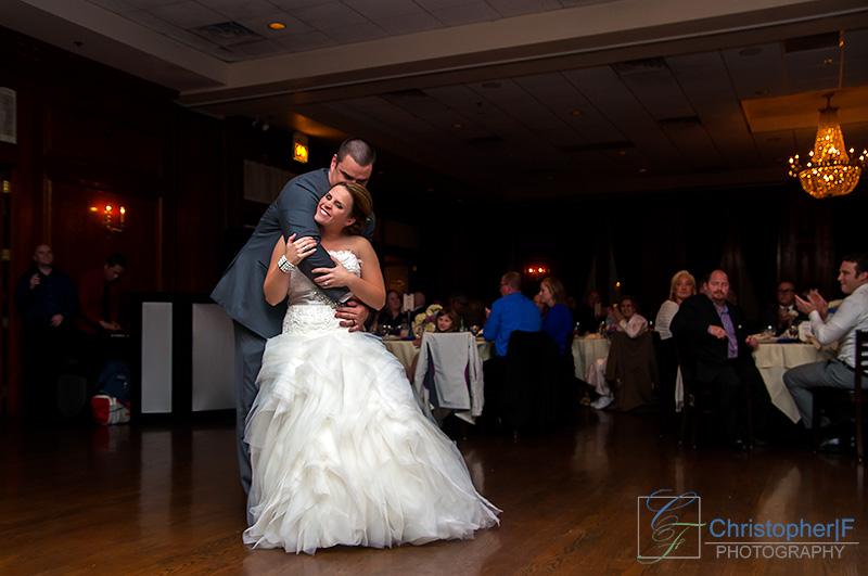 Chicago First Dance Wedding Photo