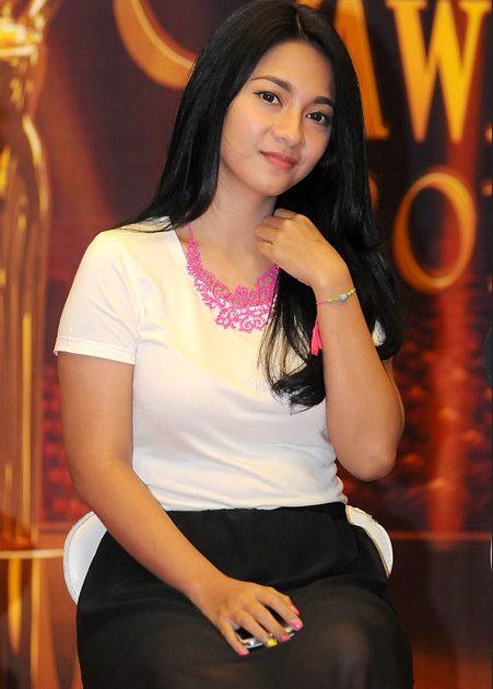 dinda kirana   the young indonesian celebrity diverse