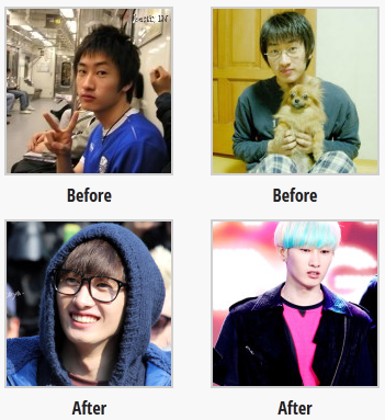 super junior eunhyuk before and after plastic surgery