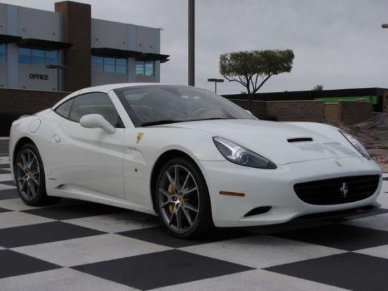 Cool Cars: Ferrari California White