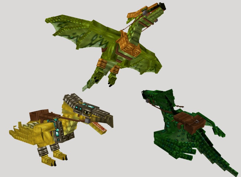 Mo' Creatures dragones Wyverns Minecraft mod