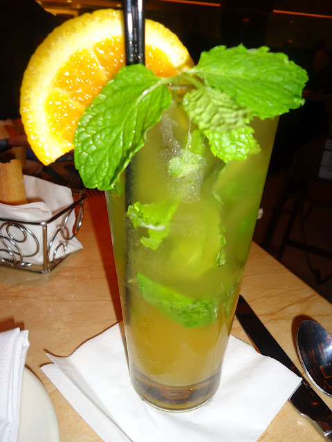 Passion Fruit Mojito at the Cheesecake Factory Dubai Mall