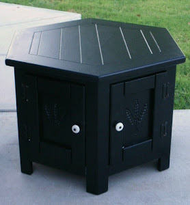 Matching Black Nightstands  *SOLD*