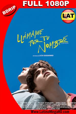 Llámame por tu Nombre (2017) Latino FULL HD BDRIP 1080P ()