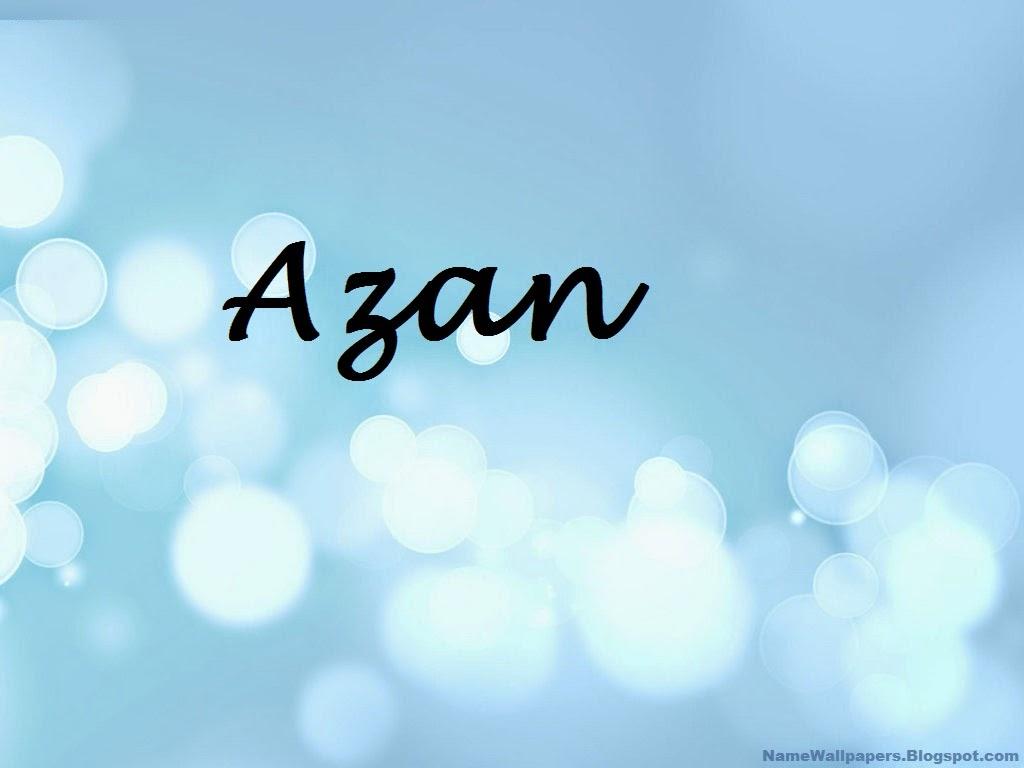 Azan Name Wallp... M Logo Wallpaper