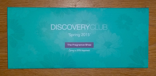 The Fragrance Shop Discovery Club Spring 2015