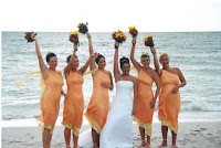 2012 Beach Bridesmaid Dresses