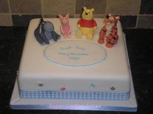 Winnie The Pooh Wedding Cakes