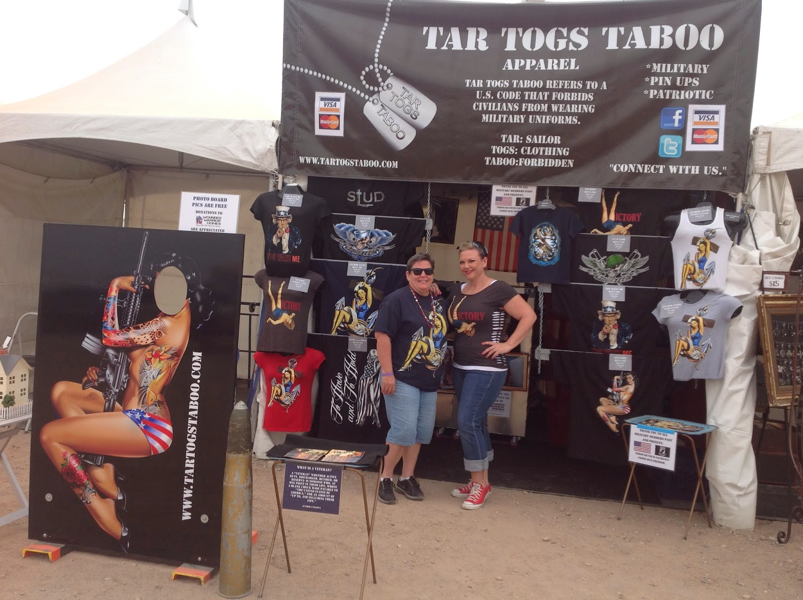 Tar Togs Taboo military clothing