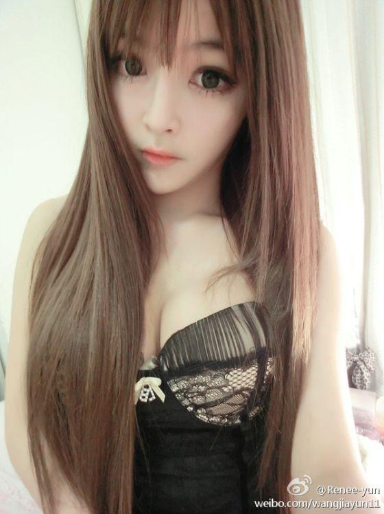 Wang Jia Yun, Gadis Cantik Mirip Boneka
