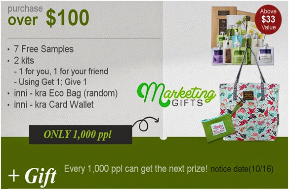 how to put a letter in a marketing gift bag