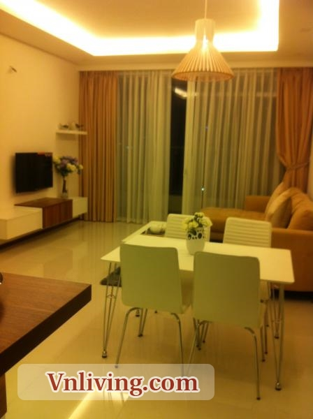 2 Bedrooms Thao Dien Pearl Flat For Rent with furniture