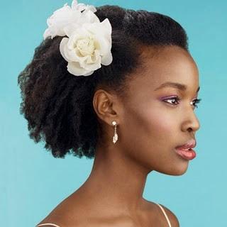 flor cabelo afro
